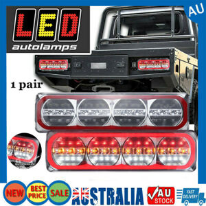 1 PAIRED SET of 385 Series L.E.D. Combination Tail Lights by LED AUTO LAM AUS