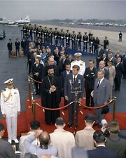 President John Kennedy with Cyprus Archbishop Makarios III New 8x10 Photo