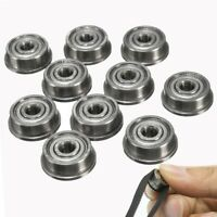 10PCS F623zz Metal Double Shielded Flanged Ball Bearings For 3D printer