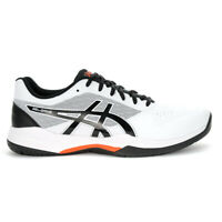 ASICS Men's Gel-Game 7 White/Black Tennis Shoes 1041A042.105 NEW