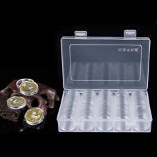 100x 30mm Münzkassette Münzenkoffer Münzkoffer Münzkapseln Münzenkapseln
