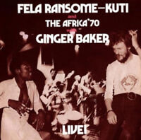 "Fela Kuti : Live! With Ginger Baker Vinyl 12"" Album (2014) ***NEW*** Great Value"