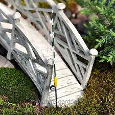 Miniature Fairy Garden Fishing Rod - green