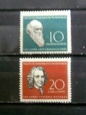 Germany - DDR Sc  388-389 Scientists 1958 - MNH