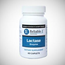 LACTASE ENZYME (Compare to Lactaid Original) by Reliable 1 Labs - 60 Caplets