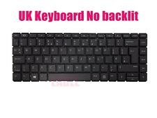 UK Black keyboard for HP ProBook 430 G6/440 G6/445 G6 No backilt