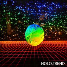 Holographie, Hologramm, 3D Bild, earth, Weltkugel, Sternenhimmel