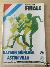 1982 EUROPEAN CUP FINAL PROGRAMME *(BAYERN MUNICH/MUNCHEN)* (26/05/1982)