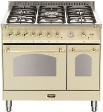 LOFRA - DOLCEVITA - DOUBLE OVEN 90 cm - RBID 96 MFTE/ CI - IVORY - Messing Finis