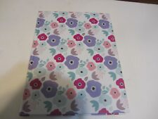 Gorgeous flower  Theme College Book Ruled Composition Hardcover Notebook
