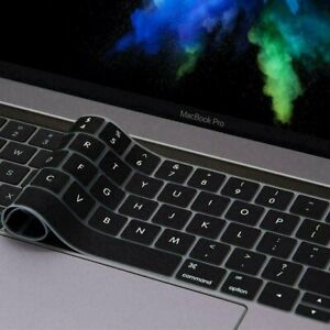 """For MacBook Air Pro 13"""" 15"""" 16"""" 2016 thru 2020 Silicone Keyboard Cover Skin New"""