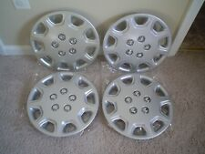 "13"" silver painted ABS hubcaps wheel covers #112-13S Camry style universal fit"