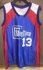 Teamwork Athletic Wear Basketball Jersey Tank sz L Hangtime Rocket #13 Made/USA