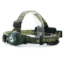 LED 2000LM Motion Headlamp Headlight Infrared Sensing Sensors Flashlights Lights