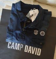 BRANDNEU Herren JEANS HEMD  von Camp David Gr.XXL Langarm ⭐MIT ETIKETT ⭐