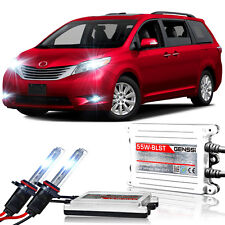 GENSSI HID Xenon Conversion Kit Bulbs For Toyota Sienna 2011-2016
