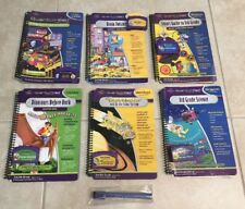 8pc Quantum Leap Quantum Pad Books, Cartridges, Dry Erase Stick & Bag