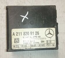 2004 W203 MERCEDES BENZ C CLASS C180 SALOON ANTI THEFT ALARM MODULE A2118209126