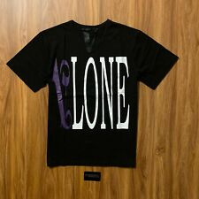 VLONE Palm Angels Purple & Black T-Shirt (Large)