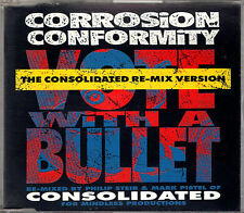 CORROSION OF CONFORMITY vote with bullet - consolidated re-mix CD single 1992