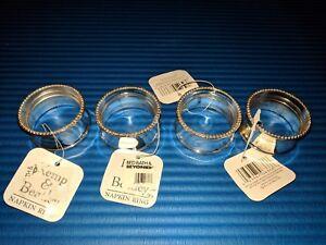 Napkin Rings Set Of 4