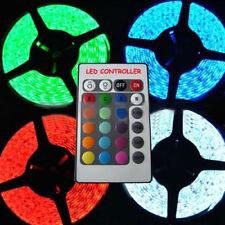 Nice 5M 24V 5050 SMD RGB 300 LEDs Strip Light Lamp Xmas Decoration Waterproof