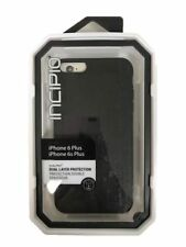 New OEM Incipio DualPro Black Case For iPhone 6 Plus/6s Plus