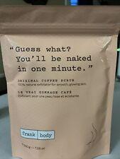 Frank Body Original Coffee Scrub Natural Exfoliator 7.5 Oz Sealed Free Shipping