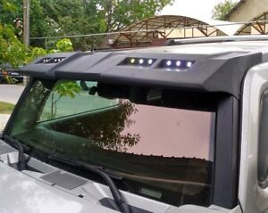 visor roof with DRL light for hummer h3