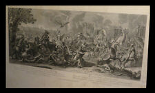 LE BRUN (Charles ou LEBRUN) - Gravure : Alexandre le Grand ou La Vertu...
