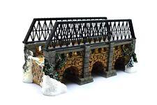 "Department 56 - Heritage Village Collection ""Stone Trestle Bridge"" - Euc"