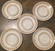 SET of 10 Corning Corelle Butterfly Gold Replacement Vintage Dinner Salad Plates