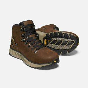 """Keen Men's Manchester 6"""" Waterproof Soft Toe Work Hiking Boots"""
