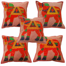 Handmade Art Deco Embroidered Decorative Cushions & Pillows