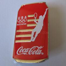 2012 London Summer Olympic Coca Cola Tennis Pin