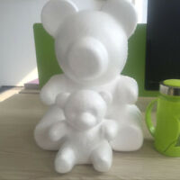 HOT Polystyrene Styrofoam Foam Bear Modelling For DIY Valentine Party Decor Wort