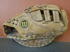 New listing Wilson The A2800 1st First Base Baseball Glove Mitt RHT Made In USA Pro-Back
