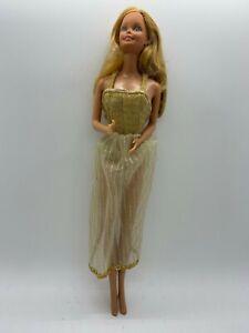 VINTAGE 1980 Mattel GOLDEN DREAM BARBIE Doll