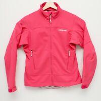 Patagonia Womens Adze Hybrid Full Zip Jacket Small Hot Pink