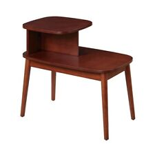 Convenience Concepts Maxwell Mid Century End Table, Mahogany - 7100245MG