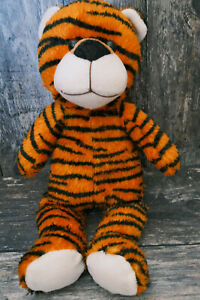 """SOFT CUDDLY TIGER TEDDY PLUSH  - BANANAS - WHITEHOUSE LEISURE - APPROX 14"""""""