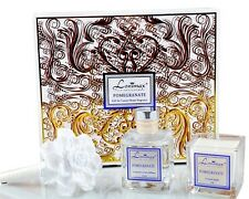 Lonimax Soy Candle & Diffuser Gift Set Pomegrante