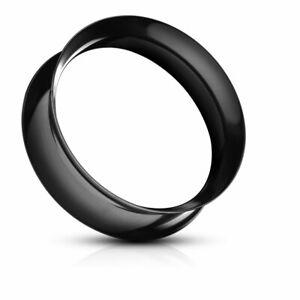 Silikon Flesh Tunnel Paar Plug Ohr Piercing Set Extra Weich Super Soft 3 - 26 mm