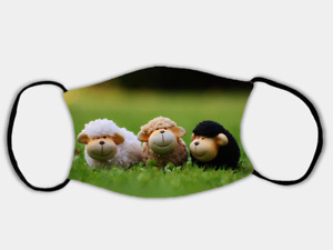 Happy Sheep Adjustable Face Mask with 2 x PM2.5 Filters