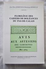 FLORILEGES DES CAHIERS DE DOLEANCES PAS DE CALAIS 1989 REVOLUTION CARTE ILLUSTRE