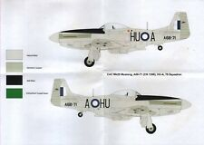 Red Roo Decals 4812 1:48 North-American P-51D CAC Mk.20 Mustang RAAF