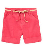 NWT Gymboree Star of the Show Pink Corduroy Shorts Sz: 8