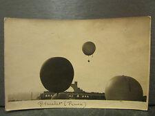 cpa photo 69 lyon 1924 grand prix aeroclub de france mongolfiere blanchet ballon