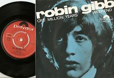 ROBIN GIBB ONE MILLION YEARS & WEEKEND NORWAY 45+PS 1969 BEAT PSYCH BEE GEES