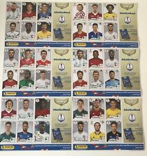 36 x PANINI 2018 RUSSIA WORLD CUP STICKERS ON SHEETS ** ALL DIFFERENT **
